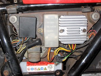 fixing the fuel gauge  well i thought i'd fix this problem when i re-lined  the tank  i extracted the fuel gauge sender assembly from the tank,