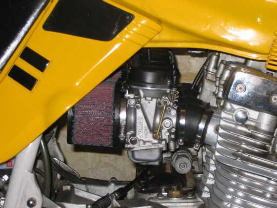 GSX-R Carbies for the Katana